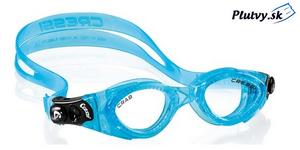 detské plavecké okuliare Cressi Crab na kurz plávania s UV filtrom