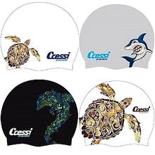 Cressi Fantasy moderná silikónová plavecká čiapka
