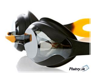 pretekárske a tréningové plavecké okuliare Speedo Merit Mirror