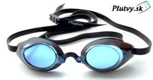 TopSwim Race lacné plavecké okuliare s modrými a tmavými sklami
