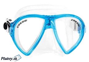 Cressi Ocean šnorchlovacia a potápačská maska v krásnej akvamarínovej farbe