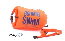 nafukovací plavák, plávajúci vak na doklady, kľúče, mobil BornToSwim