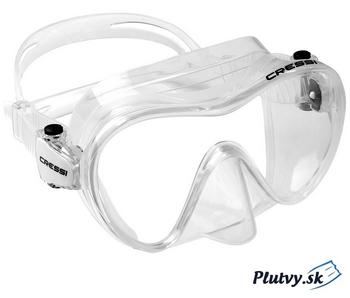 Priehľadne potápačské okuliare Cressi F1 na Plutvy.sk