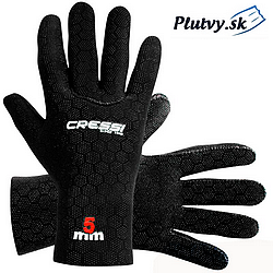 teplé elastické neoprénové rukavice Cressi High stretch fit