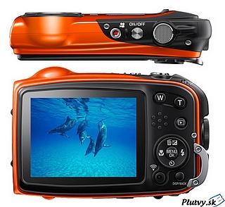 Vodotesný digitálny fotoaparát Fuji Finepix xp70