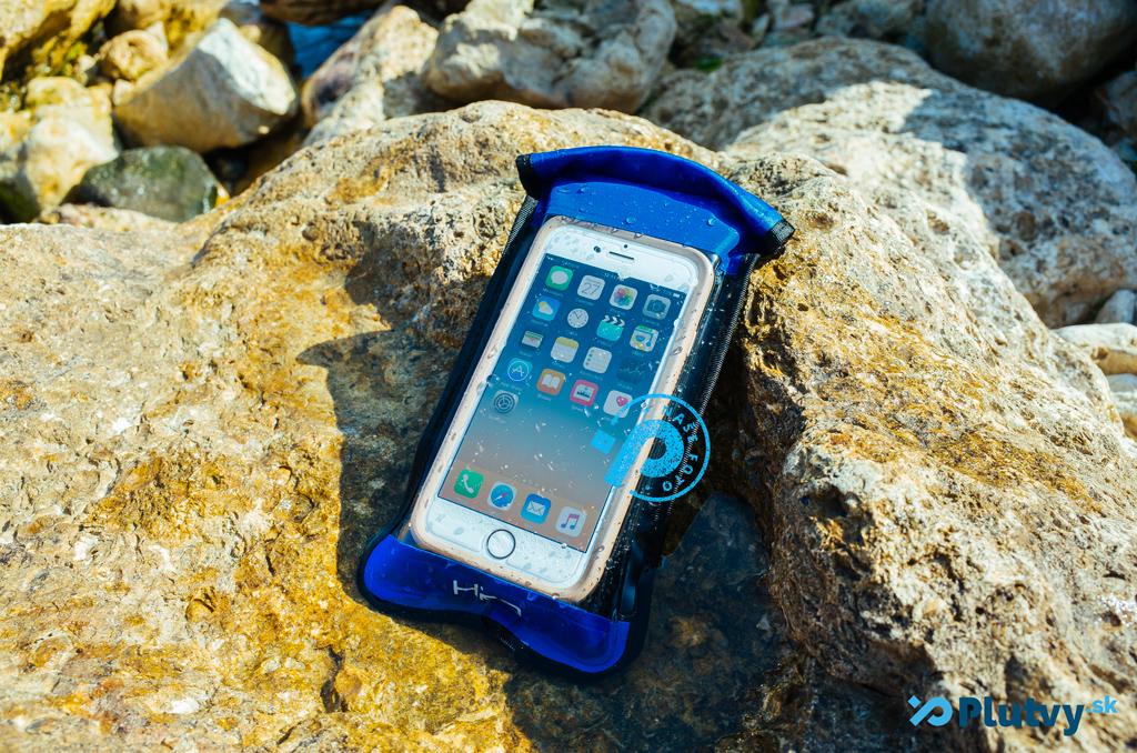 vodotesný nafukovací obal na mobil Hiko Aquashell
