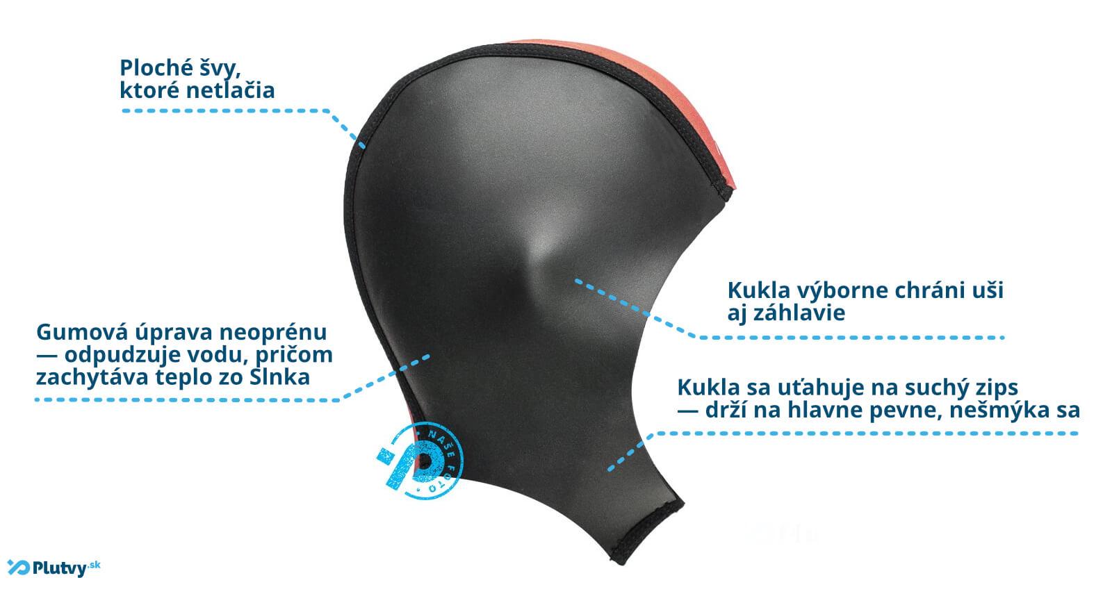 Triatlonová kukla Agama Eddy vyrobená z 3 mm hrubého neoprénu, Plutvy.sk Bratislava