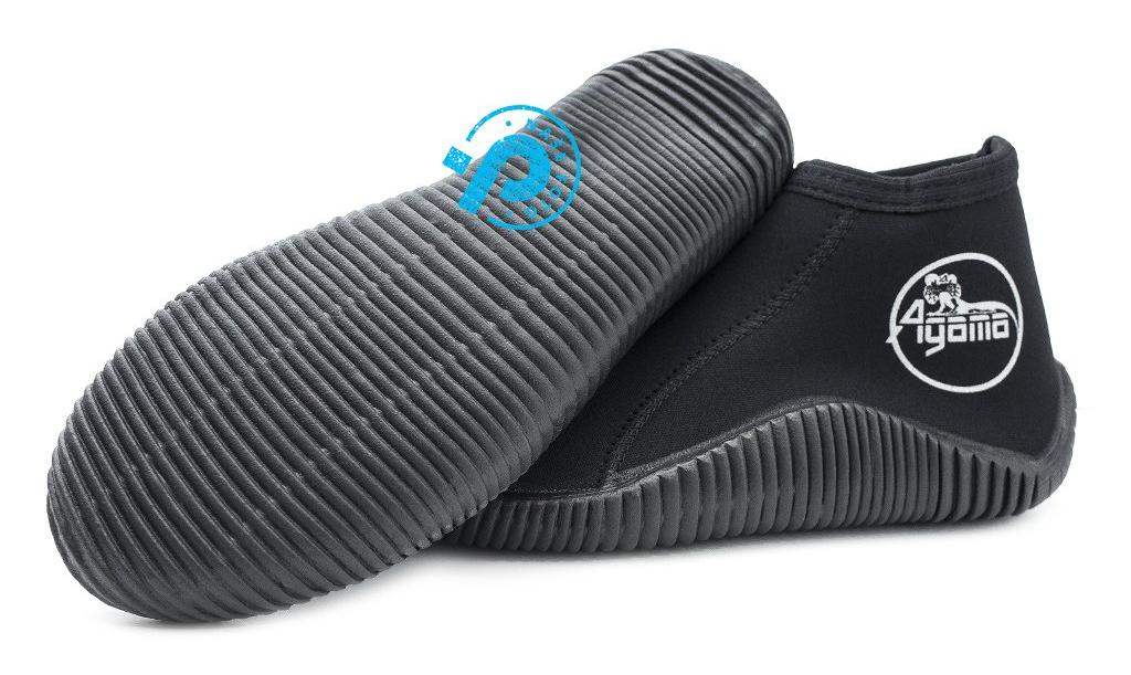 neoprénové topánky na otužovanie a zimné plávanie Agama Rock