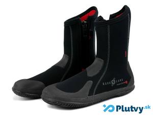 Vysoké neoprénové topánky na potápanie Aqualung Super Zip Ergo - v eshope Plutvy.sk
