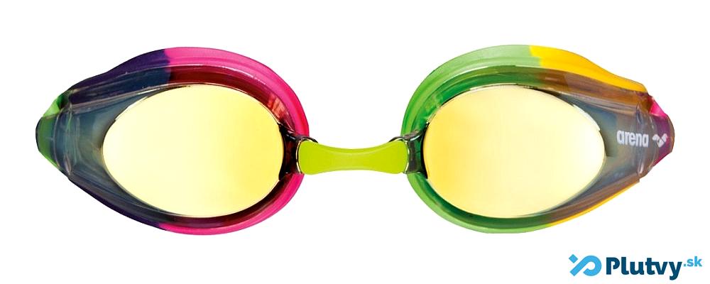 detské plavecké okuliare so zrkadlovými šošovkami, Arena Tracks