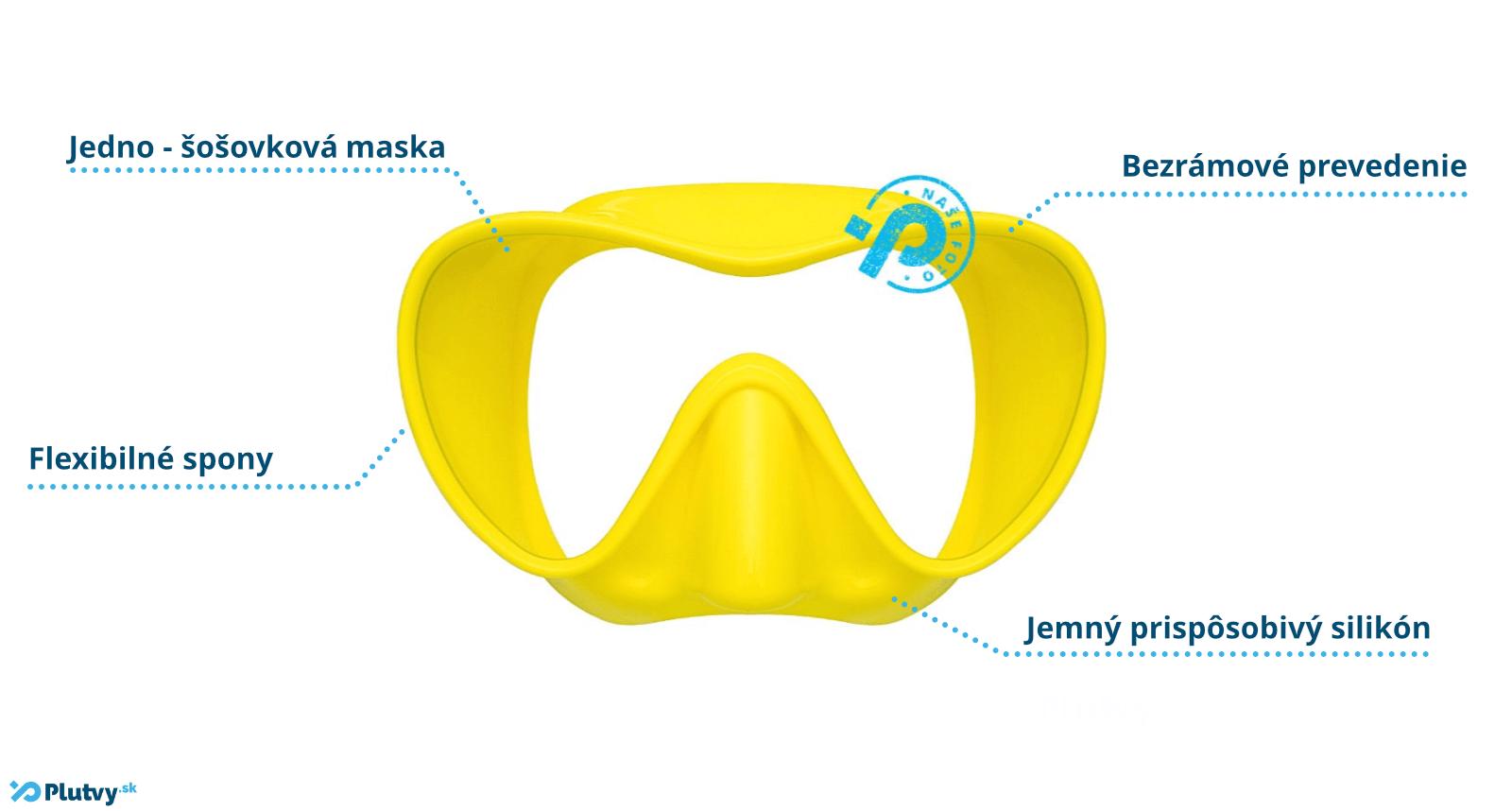 potápačská maska cressi f1 small pre deti a juniorov