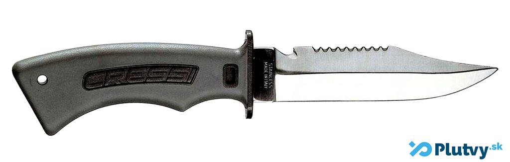 potápačský nôž z temperovanej ocele, Cressi Norge, v obchode Plutvy.sk