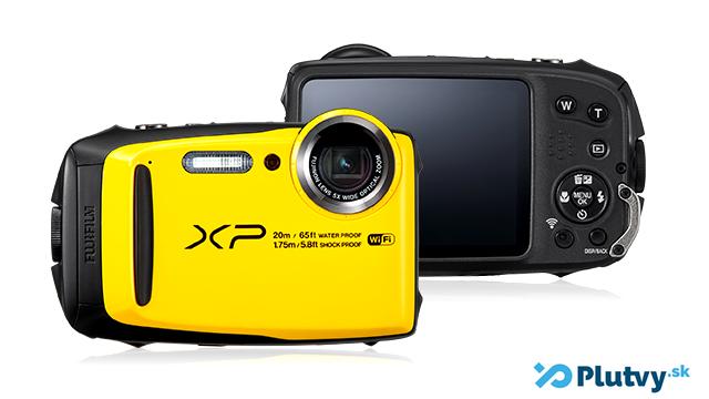 fotoaparát do vody, na šnorchlovanie, plávanie v mori, Fuji FinePix XP 120, v obchode Plutvy.sk