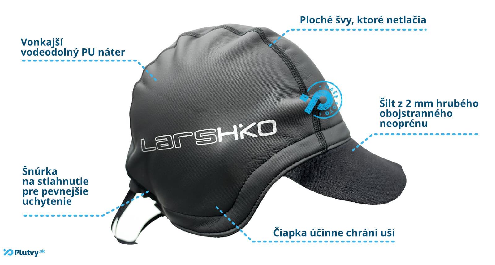 Výborná termoizolačná čiapka Hiko Sea Daddy, pre vodákov, rybárov a športovcov v Plutvy.sk