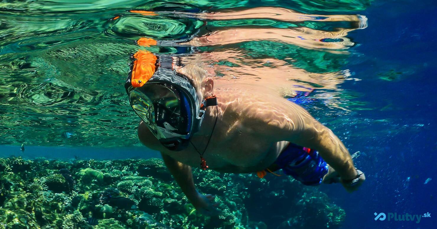 Celotvárová maska Ocean Reef QR+ na šnorchlovanie, v e-shope Plutvy.sk