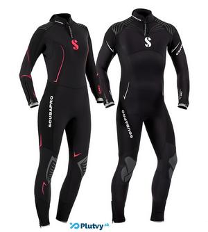 potápačský oblek pre mužov aj ženy Scubapro Definition 5mm - Plutvy.sk