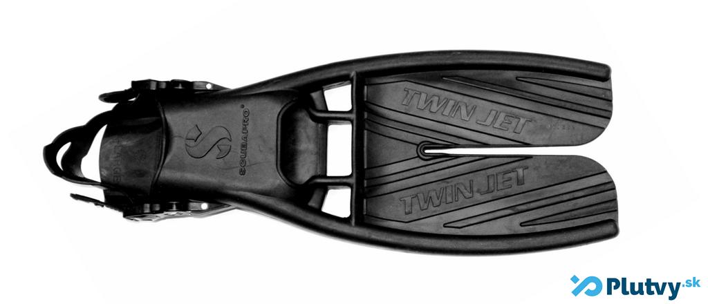 potápačské plutvy s deleným listom, vrtulou, Scubapro Twin Jet v obchode Plutvy.sk