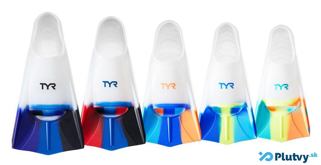 farebné plavecké plutvy TYR Stryker, v obchode Plutvy.sk