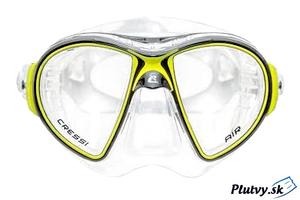 Cressi Air Crystal nová, veľmi kvalitná potápačská maska