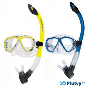 maska a šnorchel pre dospelých plavcov